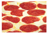 Our beef pepperoni is only using a top quality meat as a succulent topping to our pizzas.