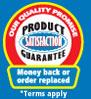 Product Satisfaction Guarantee